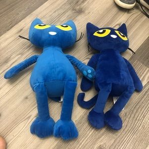 Kohl's Cares Pete the Cat Two Stuffed Animals